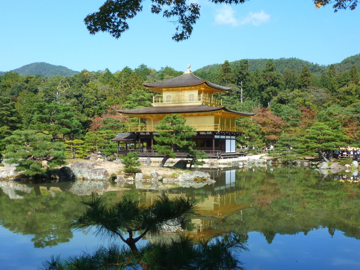 pavillon d'or Voyage au Japon en Famille
