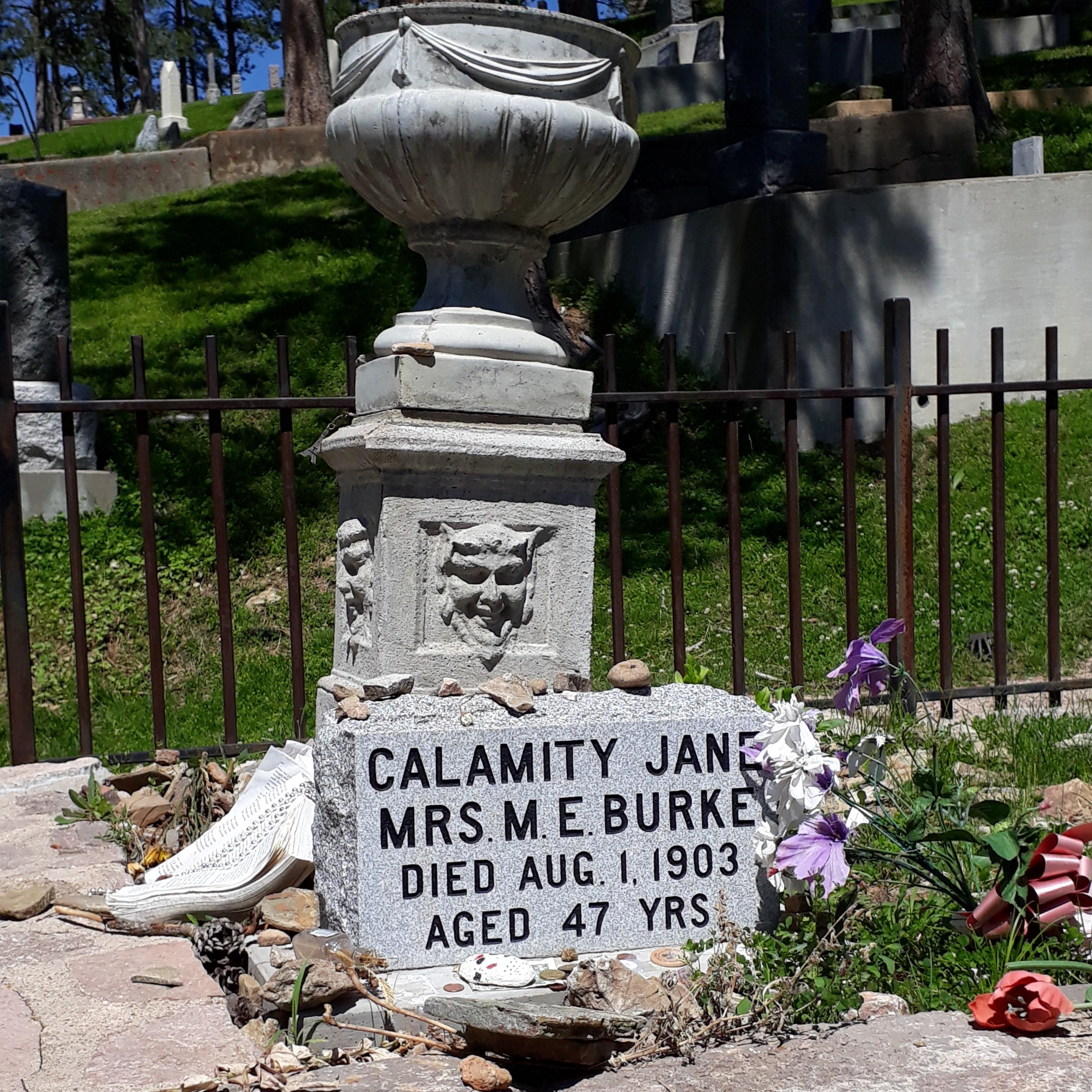 """cimetière du """"Mount Moriah calamity jane"""