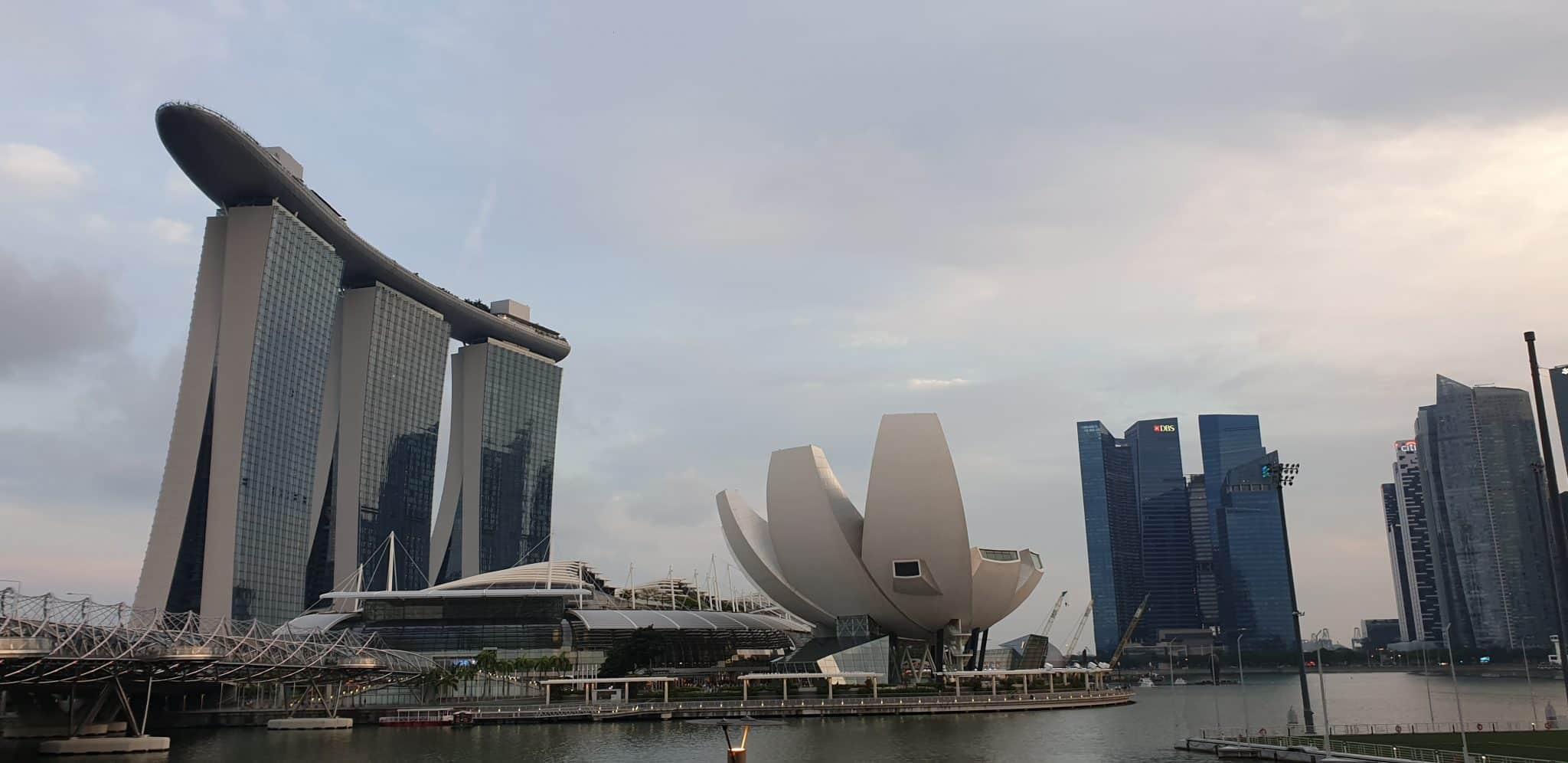 marina bay singapour lieux d'interet