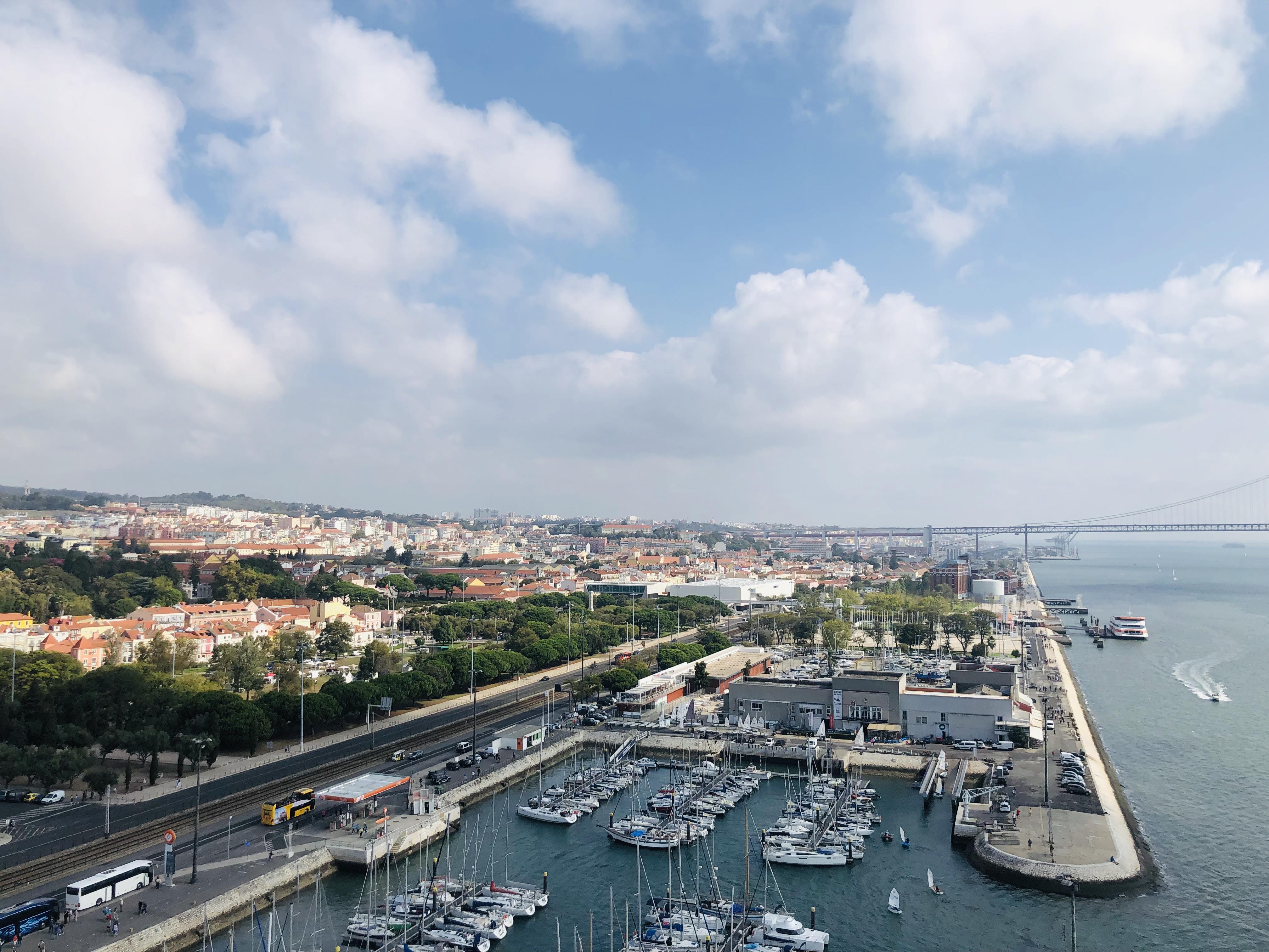 3 jours à lisbonne panorama port