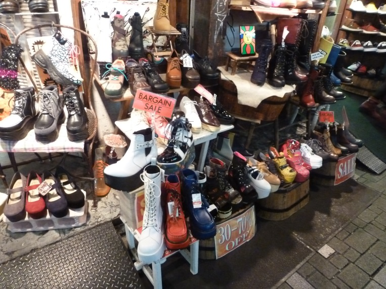 magasin chaussures tokyo