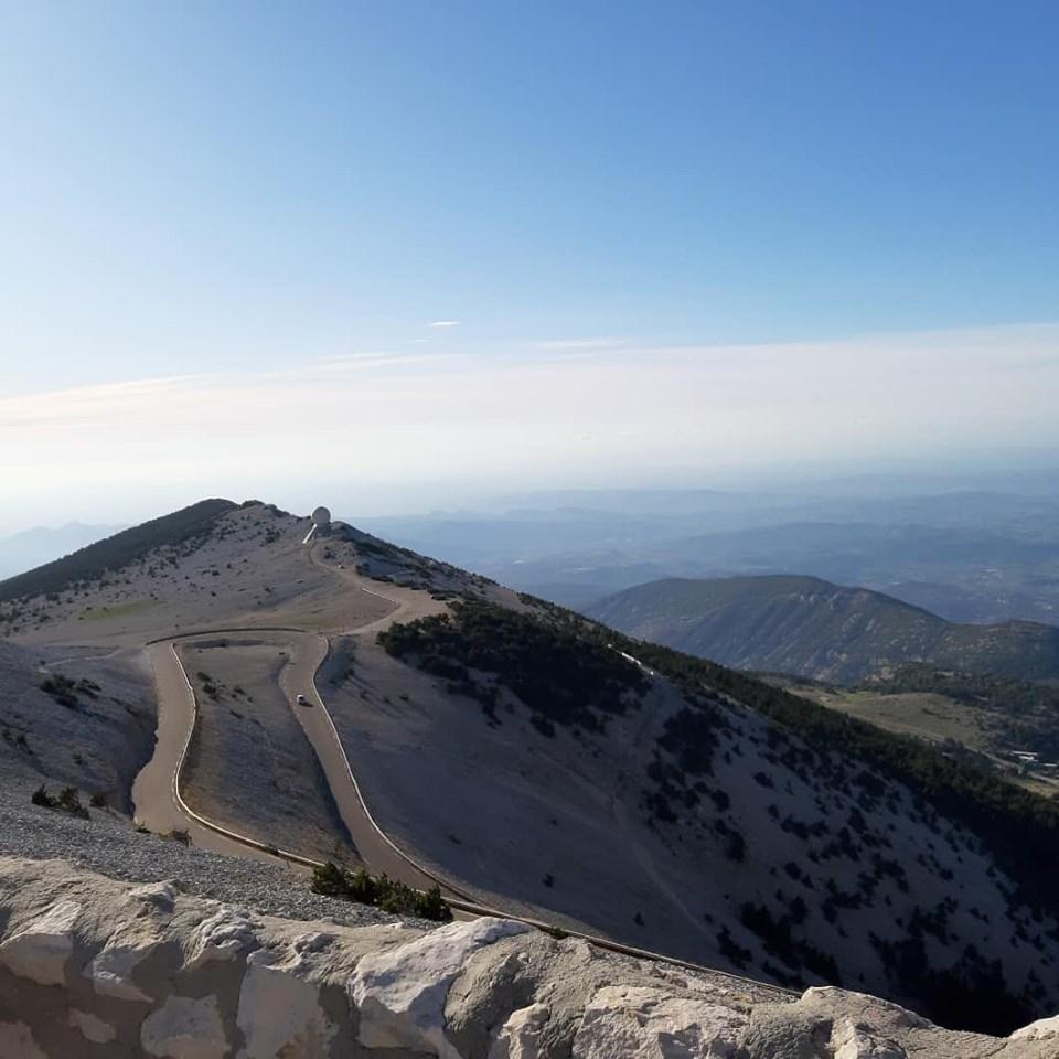 ascension montagne route