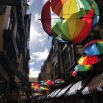parapluies colorés Perth