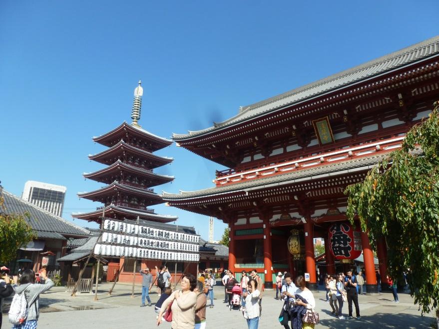 voyage au japon en famille tokyo temple