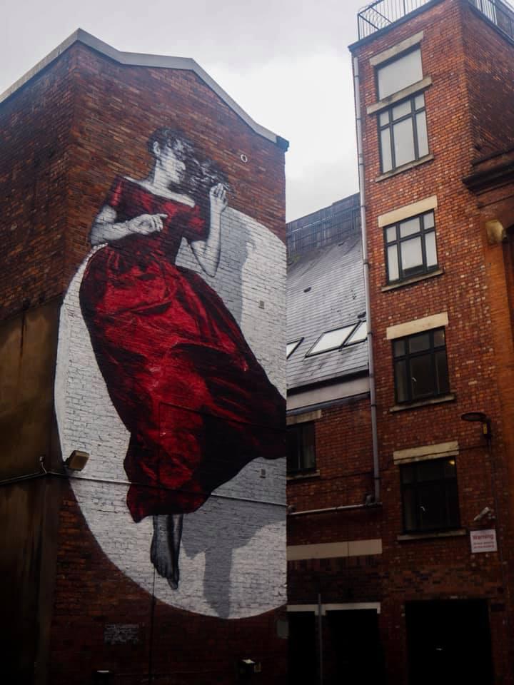 Northern quarter manchester street art week end