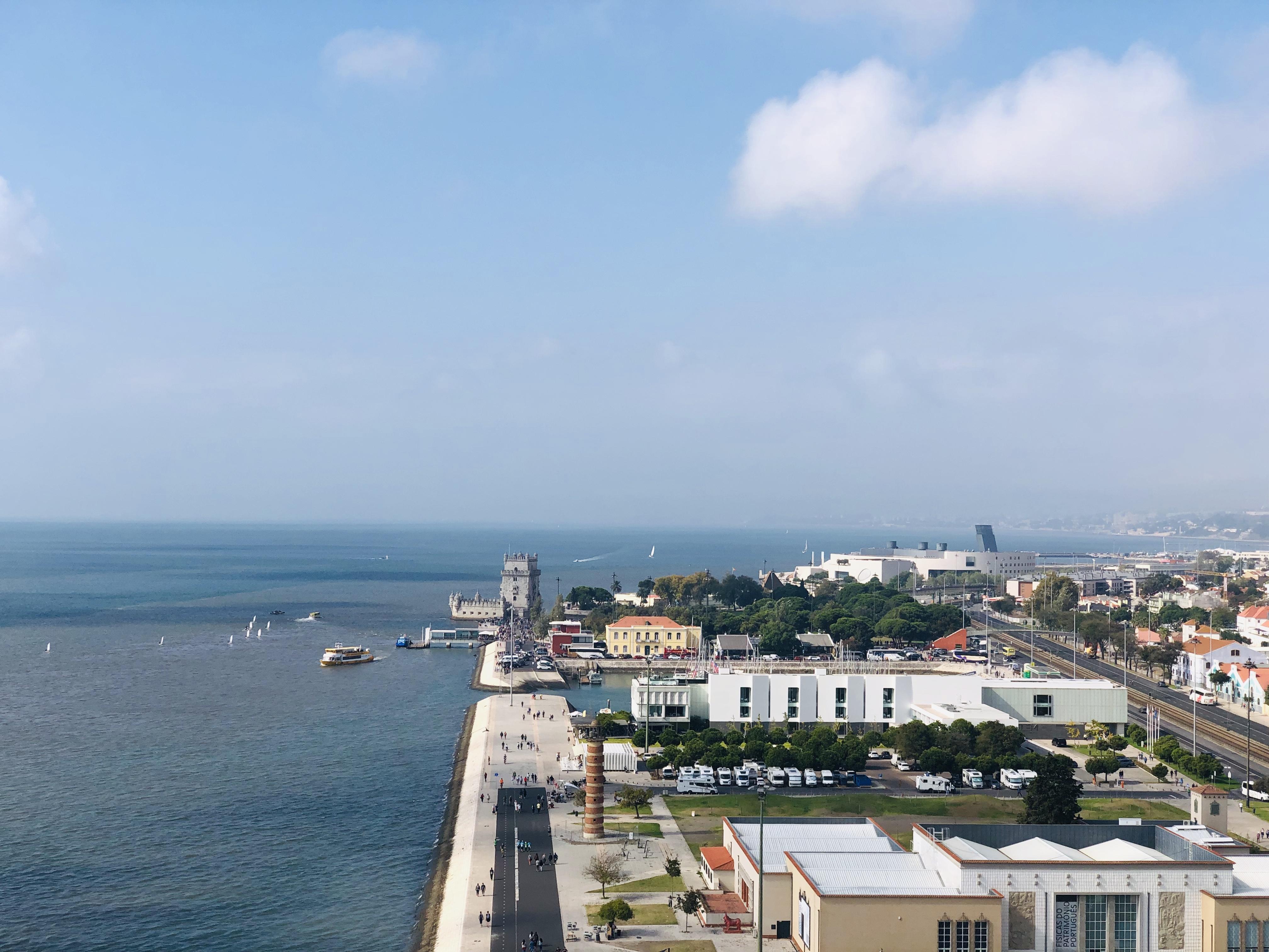 port de lisbonne vue