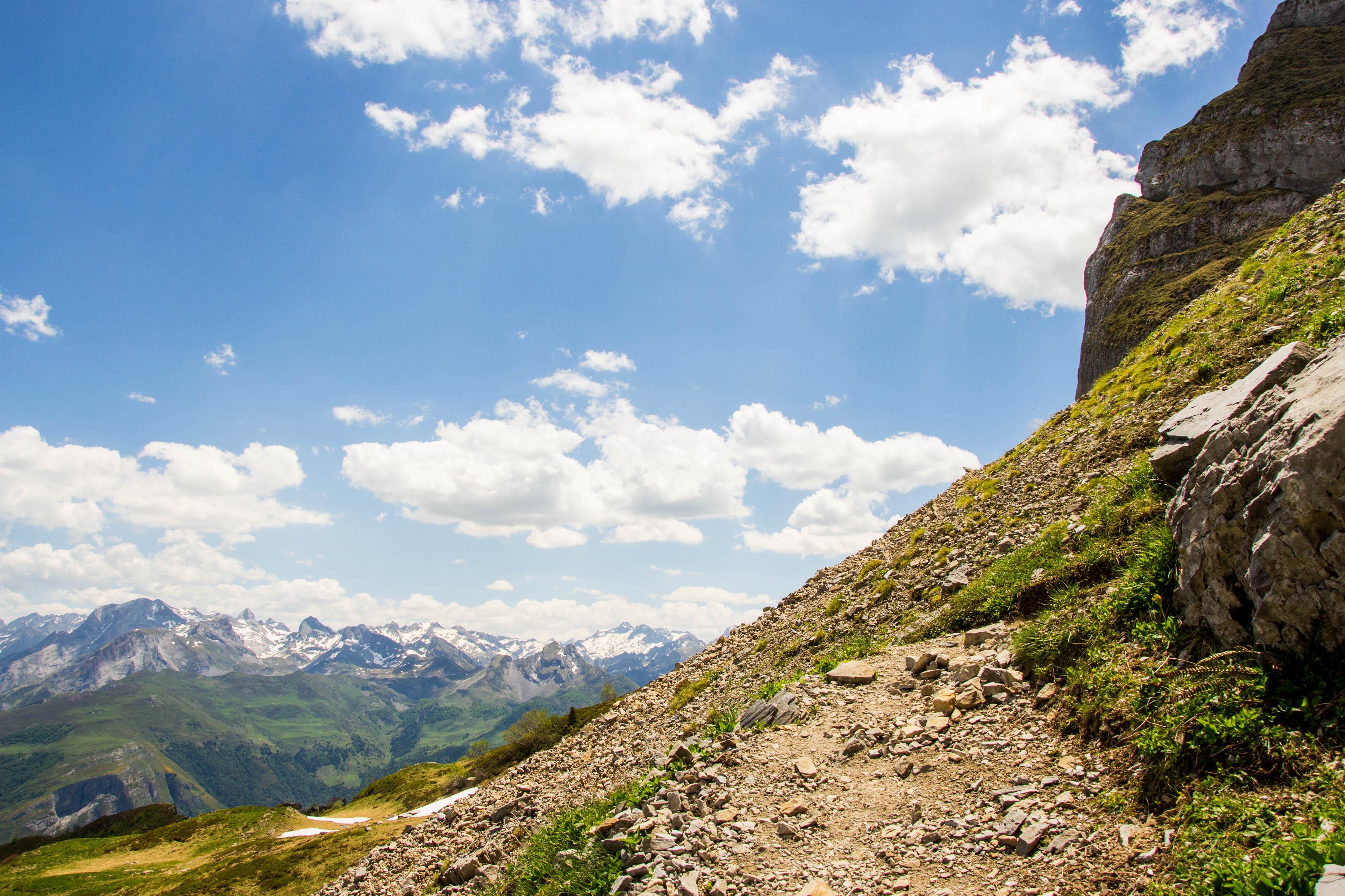 sentier de randonnée pyrénées