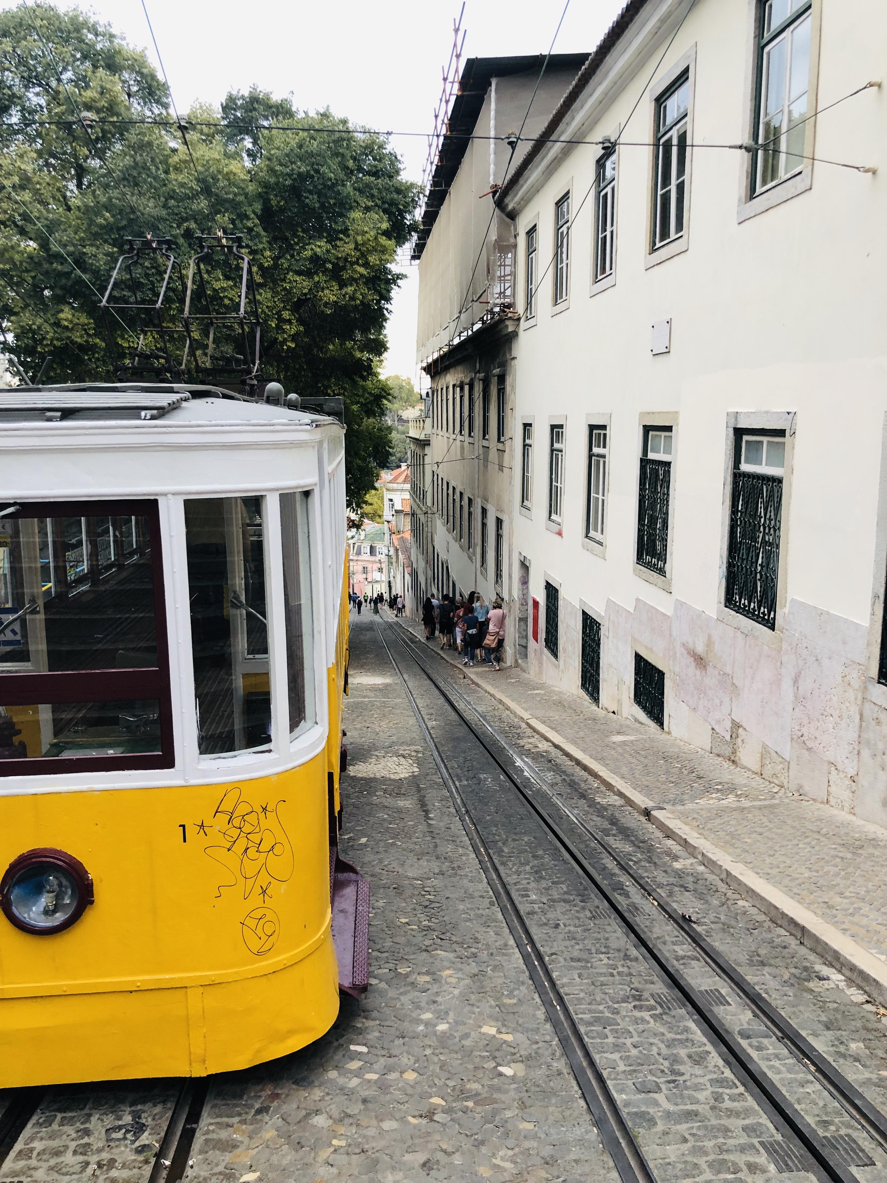 tramway jaune lisbonne en 3 jours