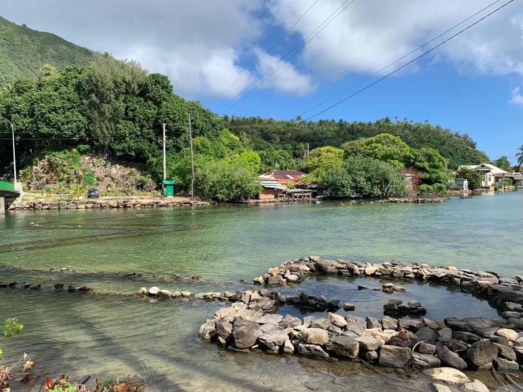 pièges à poisson huanine iles polynesie francaises