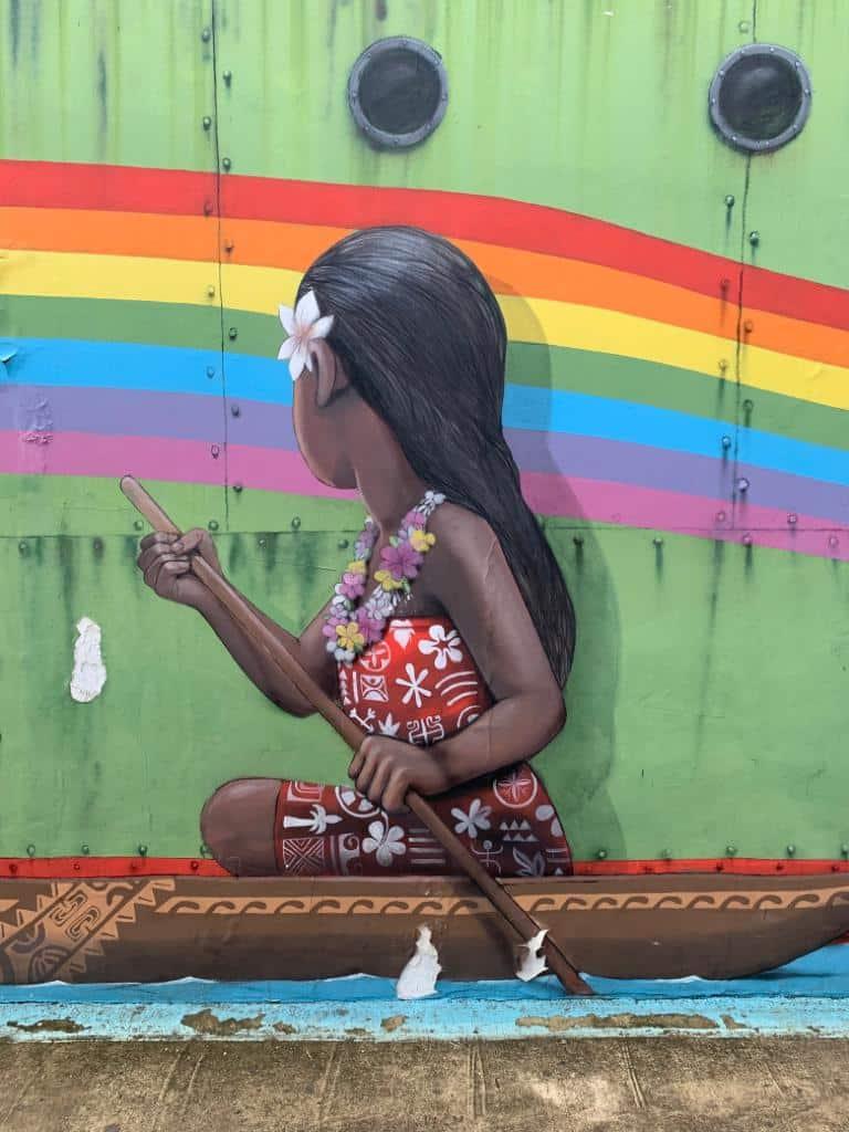 street art bora bora