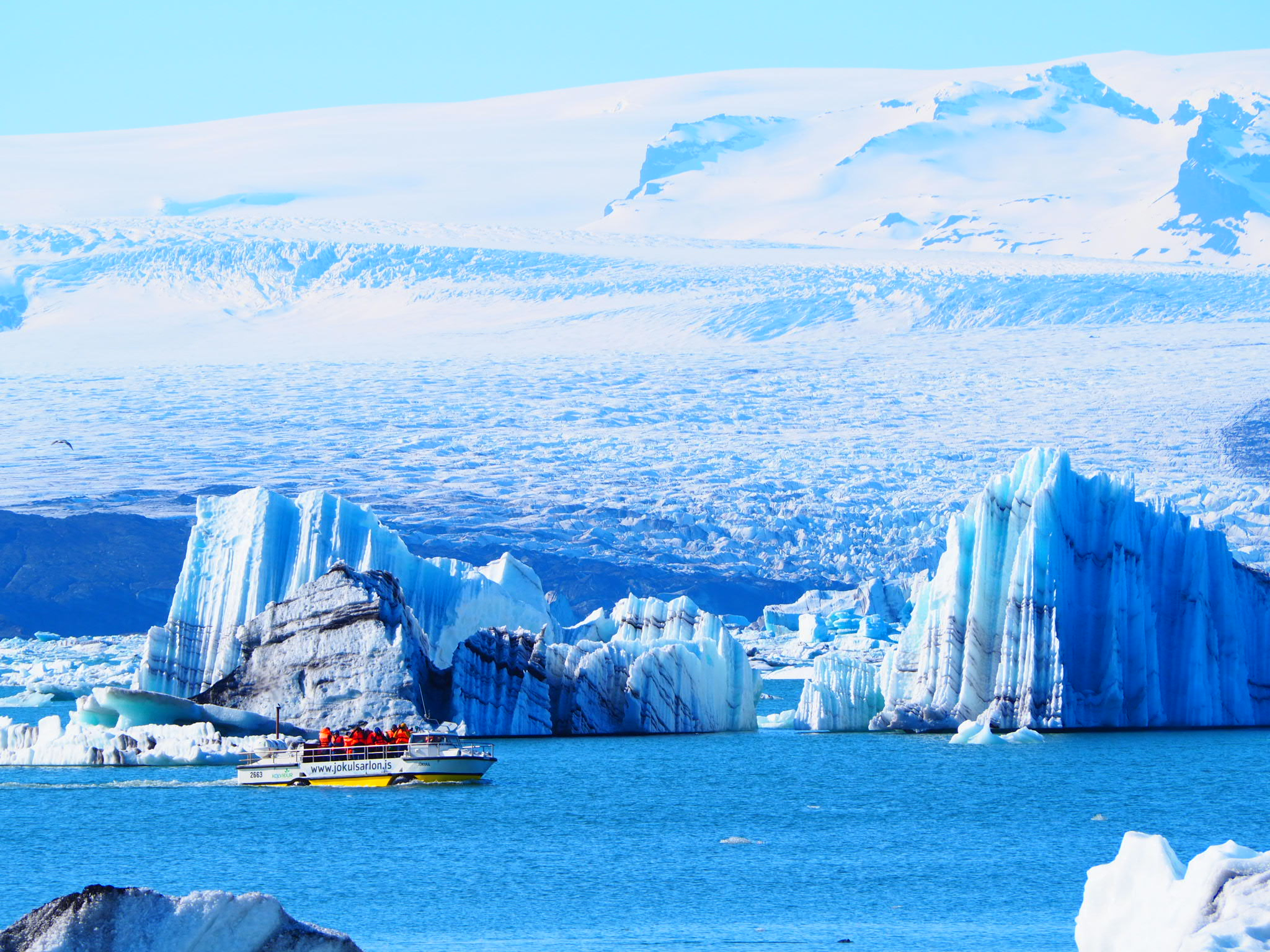 la lagune glaciaire de Jökulsárlón