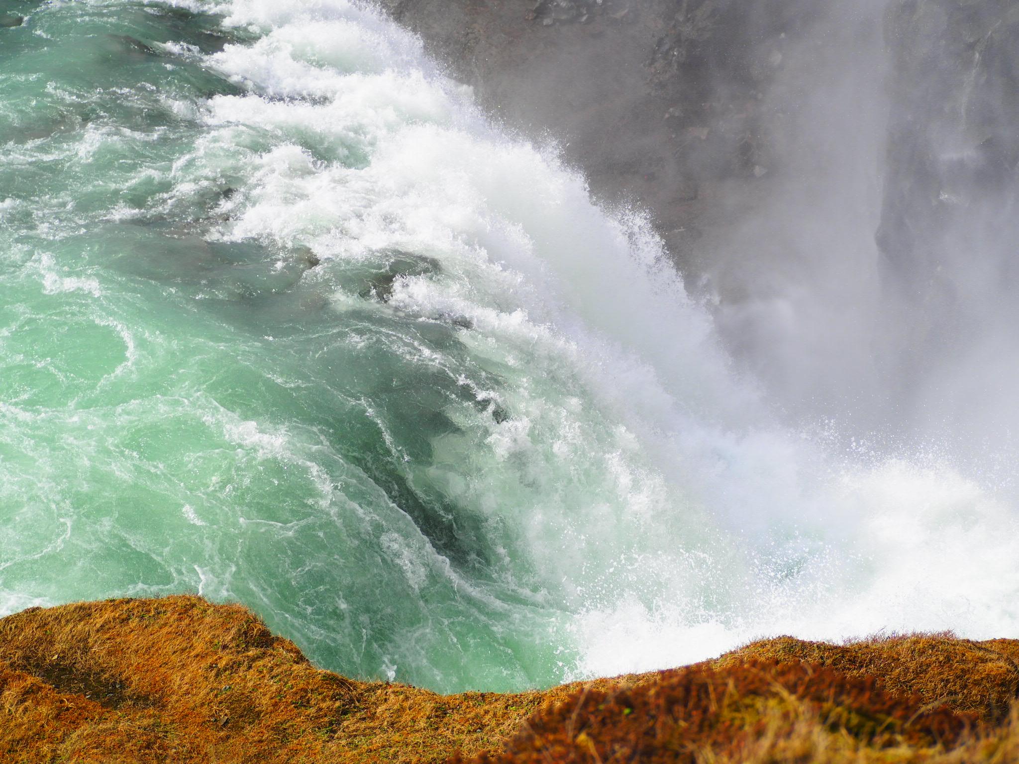 Gullfoss chutes d'eau