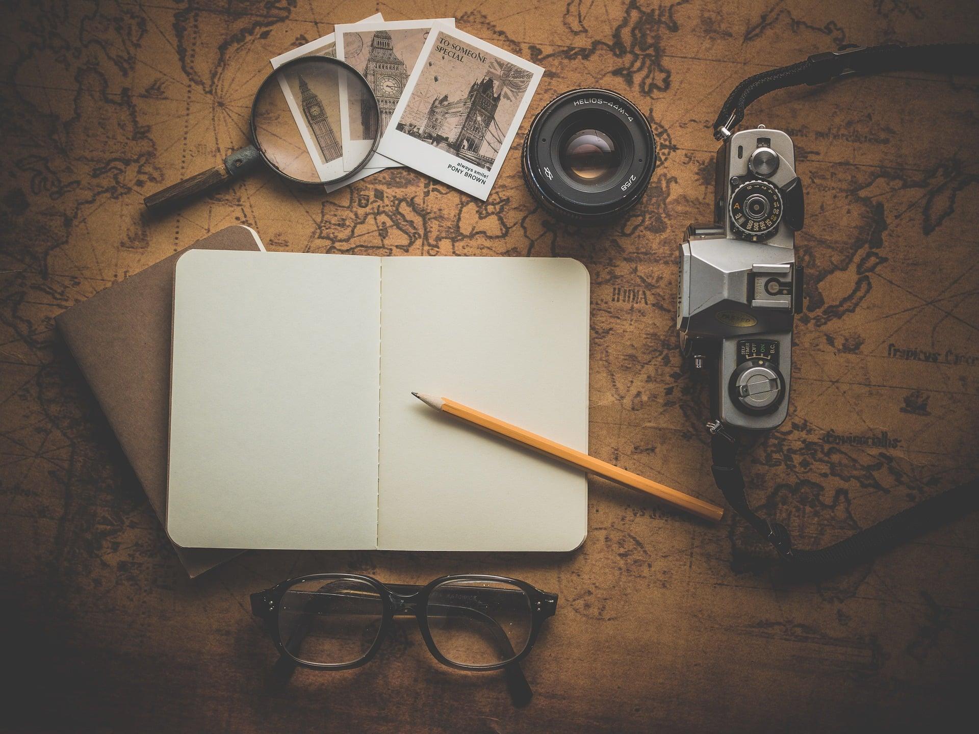 creer blog de voyage carnet