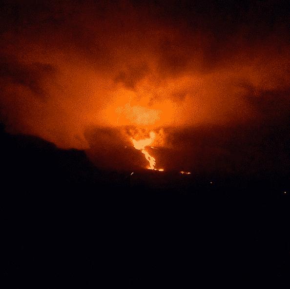 Eruption du Piton de la Fournaise