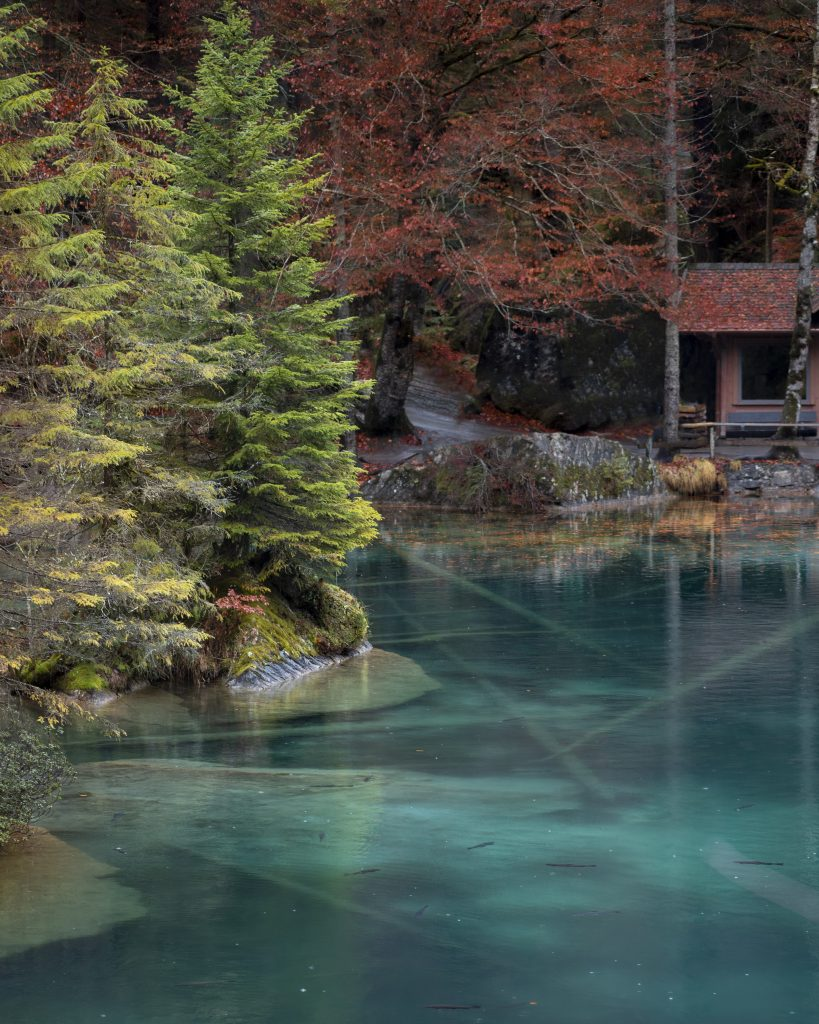 lac Blausee oberland