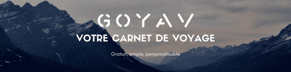 carnet de voyage goyav bannière