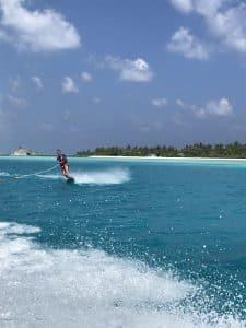 ski nautique maldives