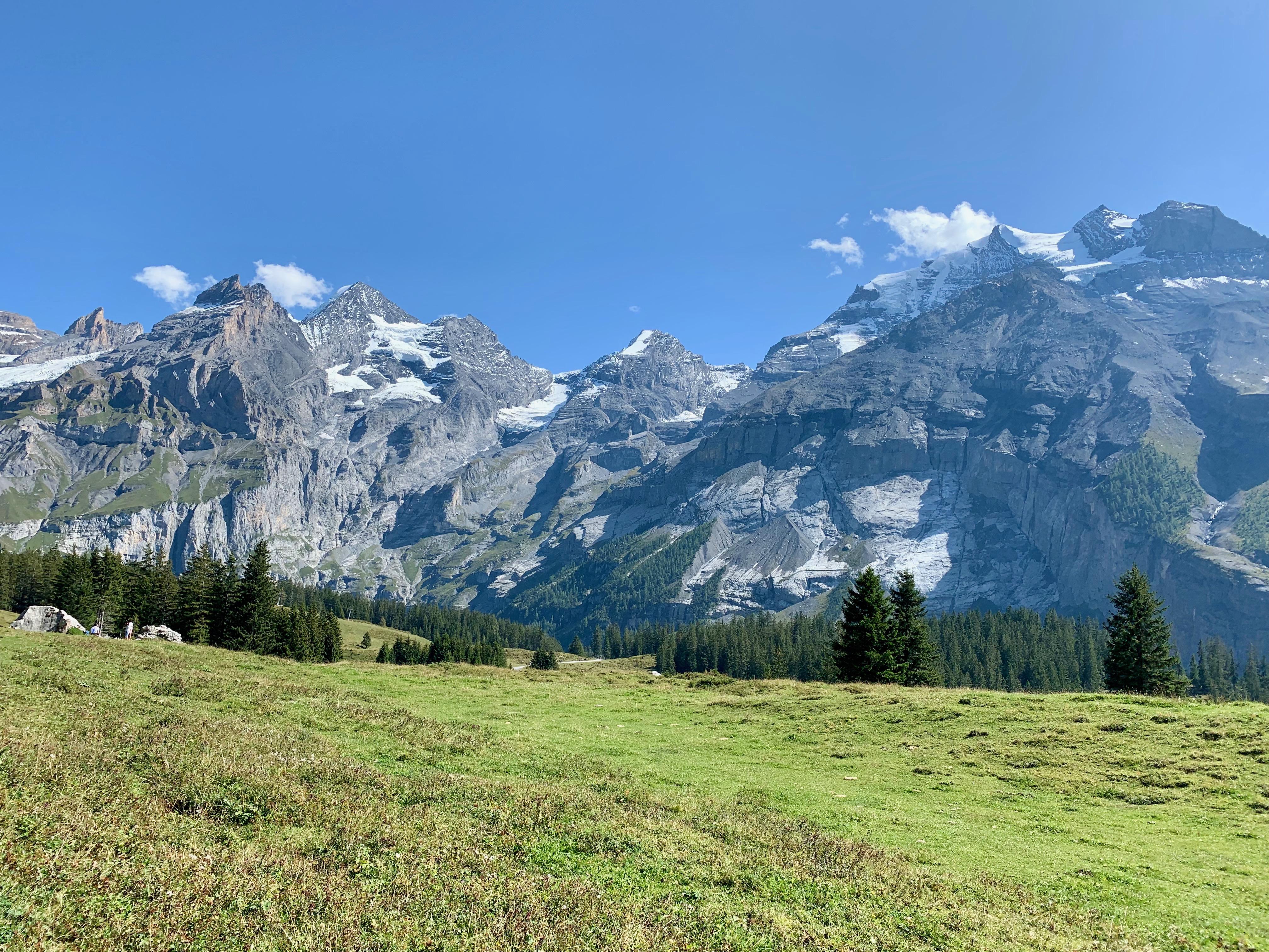 Panorama montagne Kandersteg