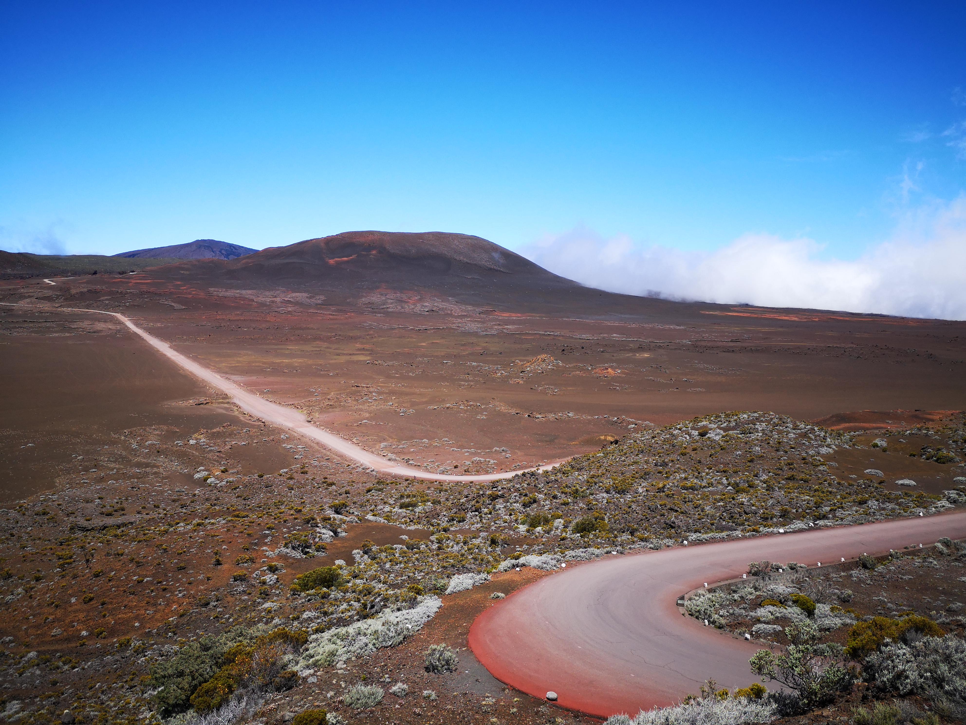 randonnée volcan ile de la reunion itinéraire
