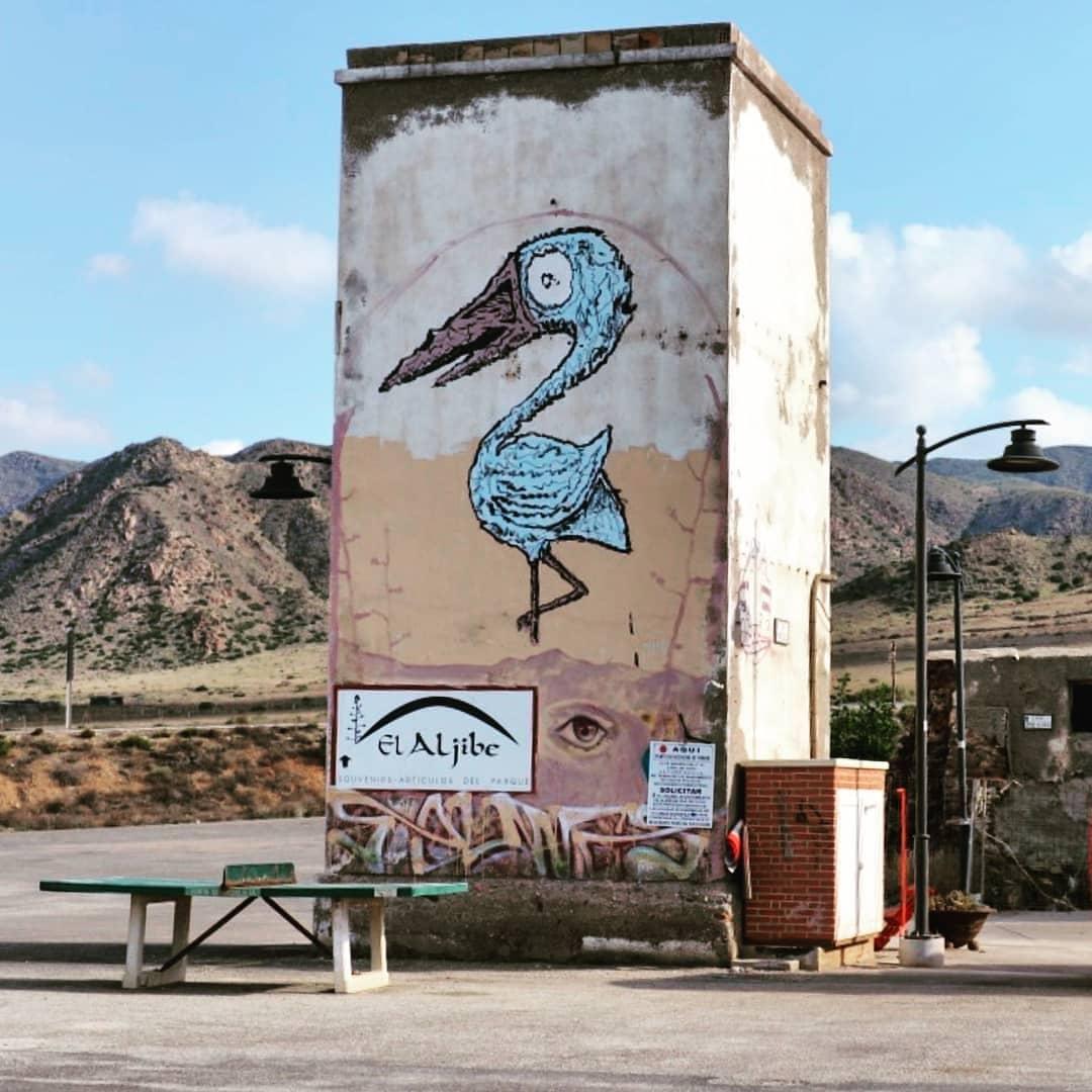 Cabo de Gata street art