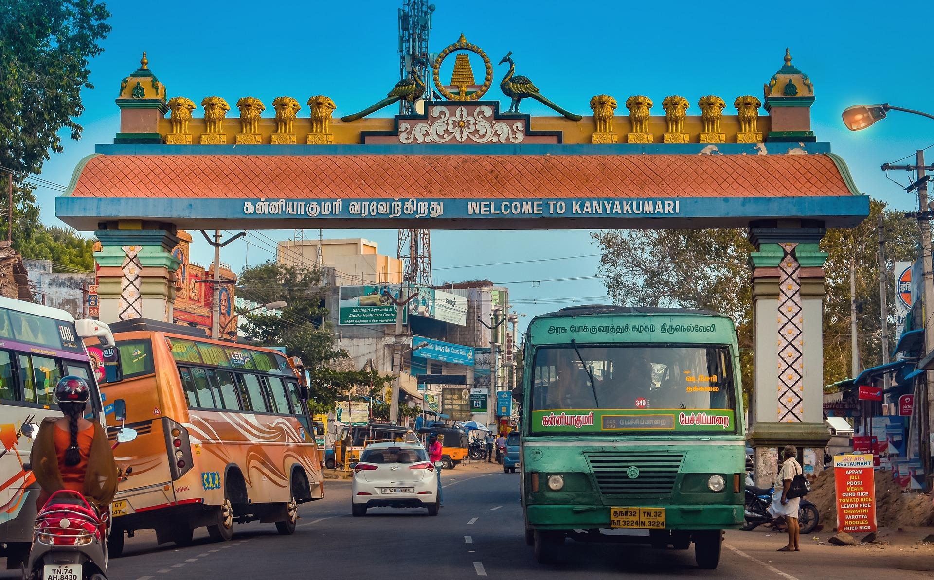 tamil nadu ville extrême sud