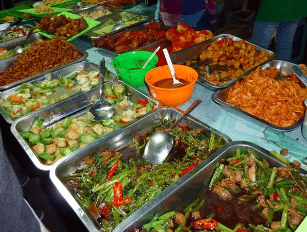 Night market iles gili trawangan