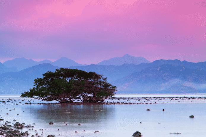 coucher de soleil gili trawangan