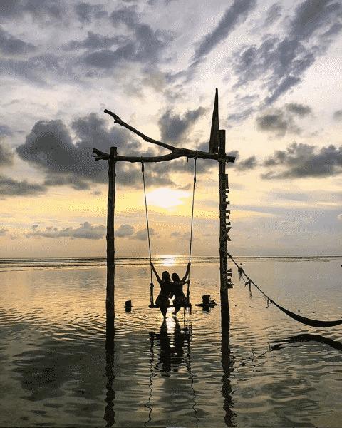 the exile gili trawangan