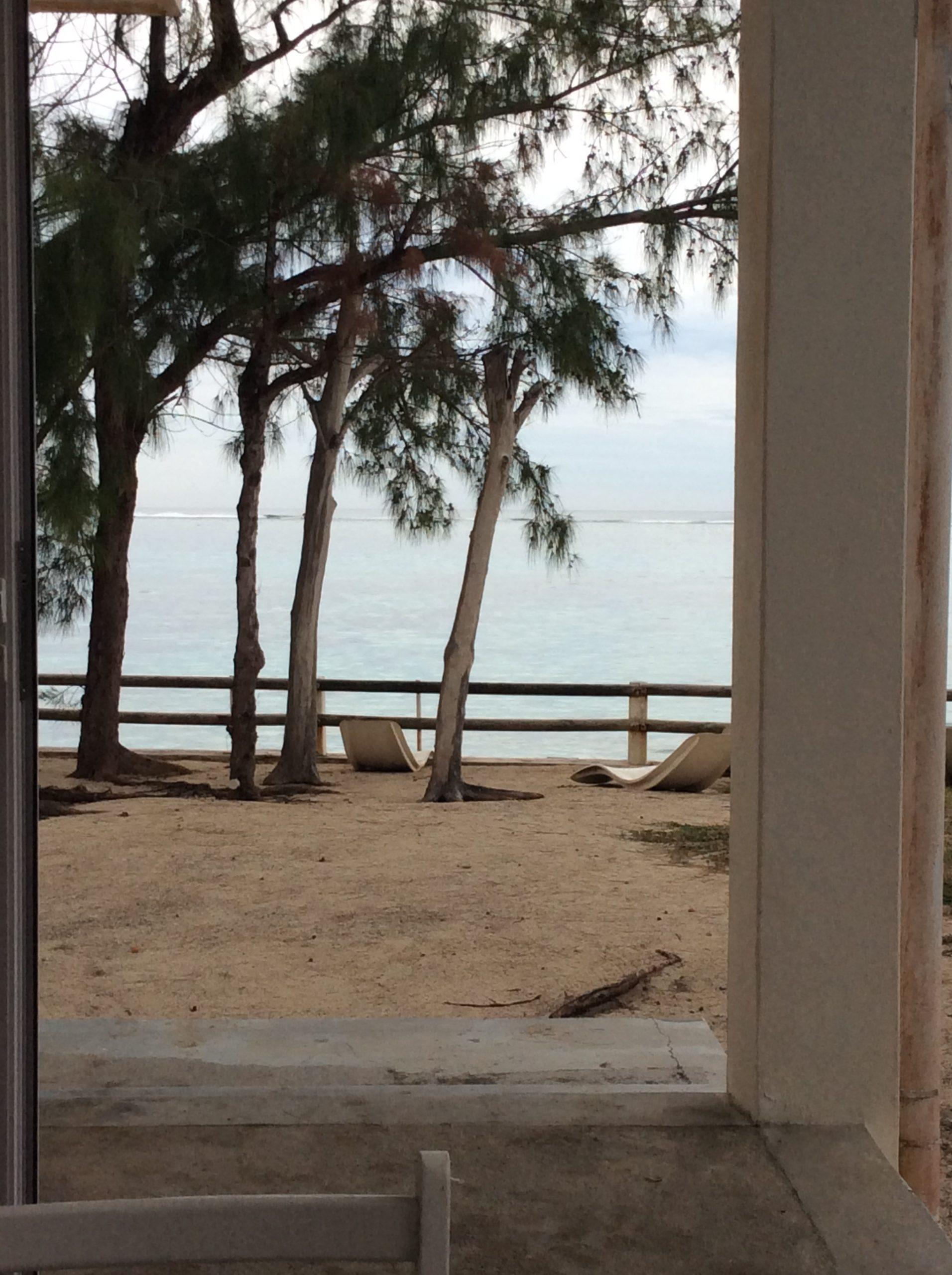 vue sur l'océan à Lummi Island