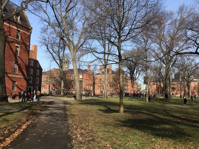 Harvard visiter boston