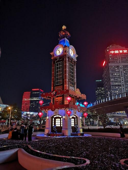 Lujiazui quartier shanghai