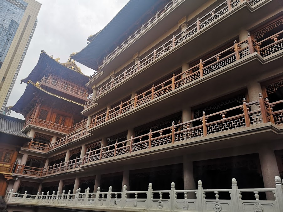 temple bouddhiste à Shanghai