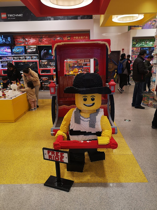 Lego store shanghai
