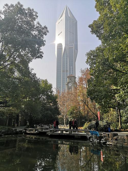 parc de people's square à Shanghai