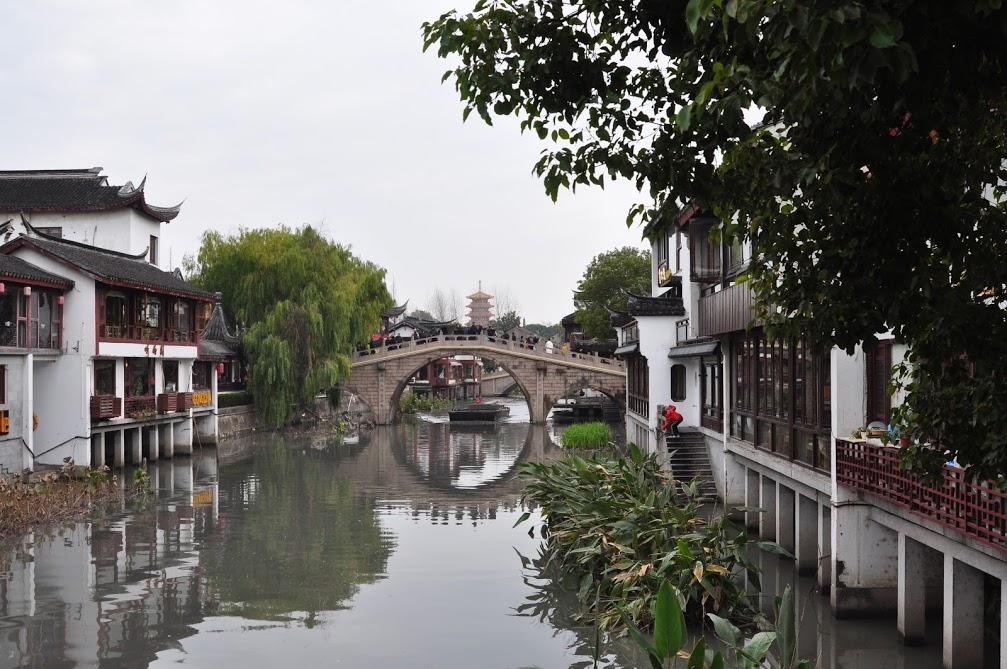 Qibao ville d'eau shanghai