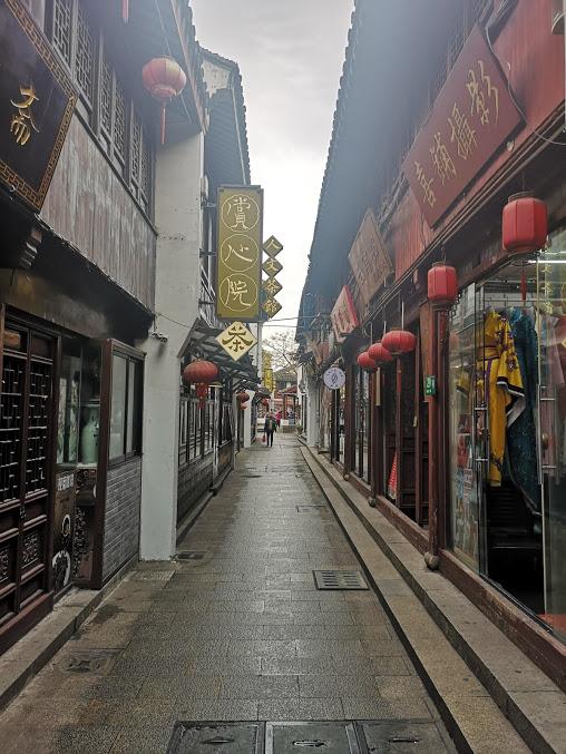 ruelle de qibao à Shanghai