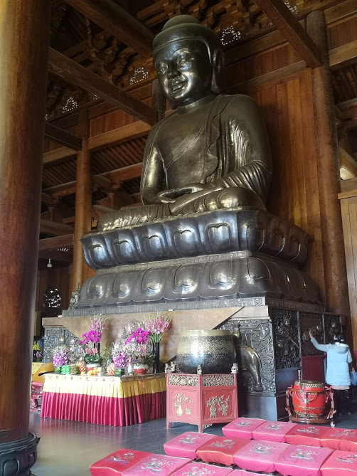 Statue de Bouddha à Jing'An Temple