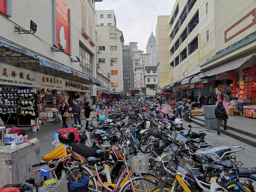 Vélo shanghai vieille ville