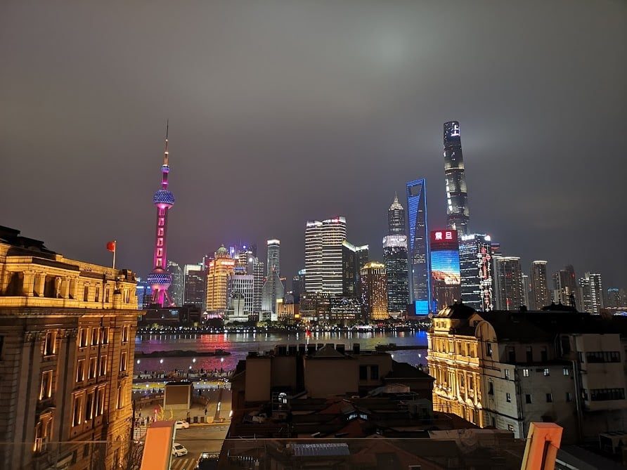 panorama el captain roof top shanghai