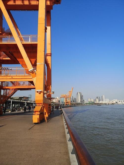 west bund dock orange