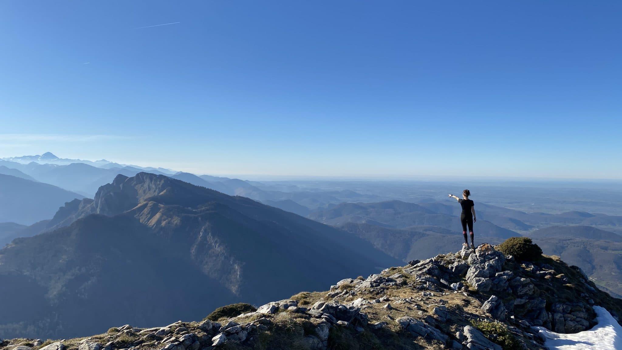 photo sommet montagne pic de cagire