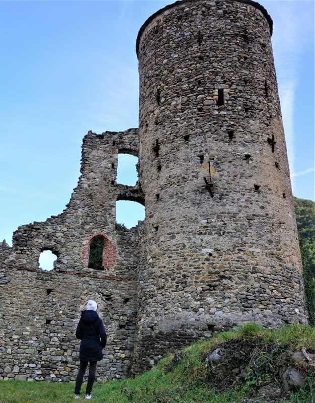 les ruines du Château Lascaris