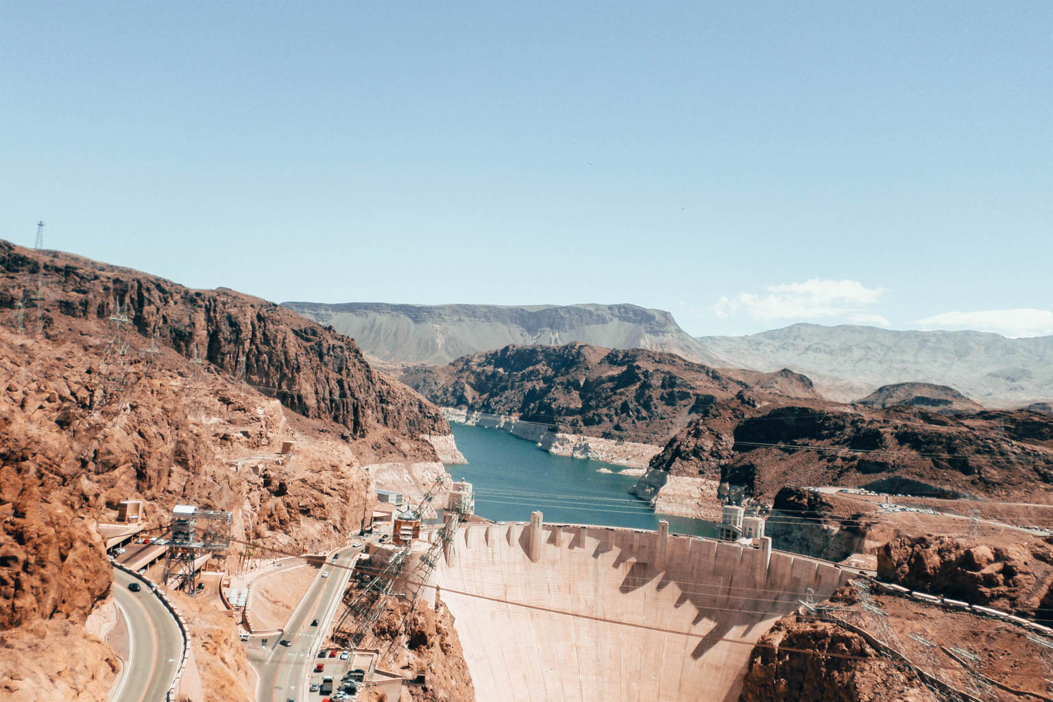 Hoover Dam road trip côte ouest usa