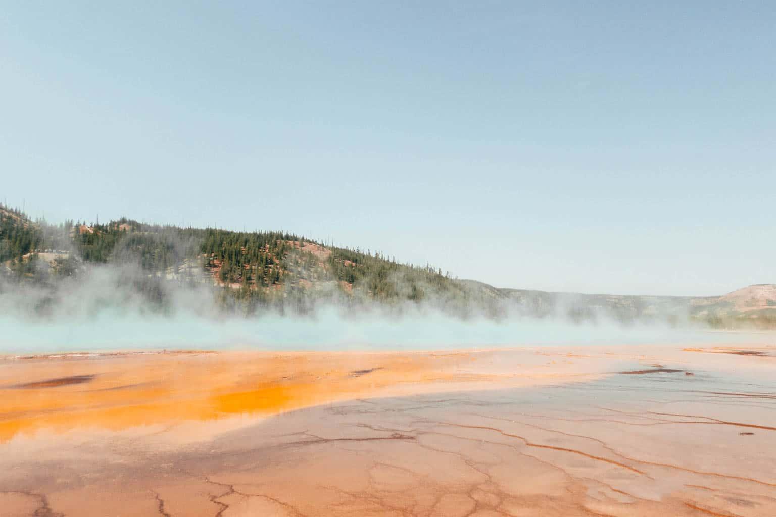 geyser Yellowstone