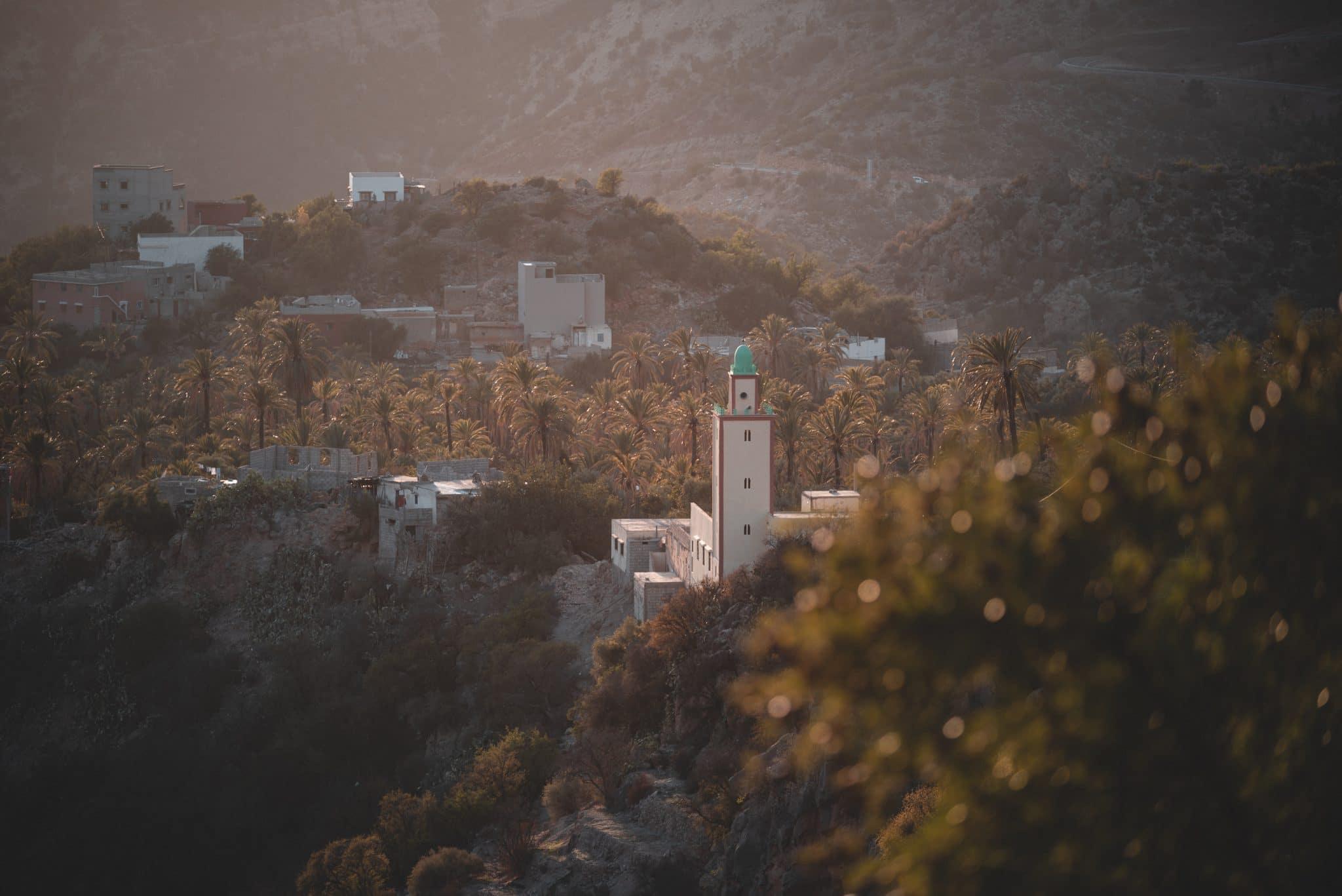 Photo panorama Vallée Paradis pendant un road trip au Maroc