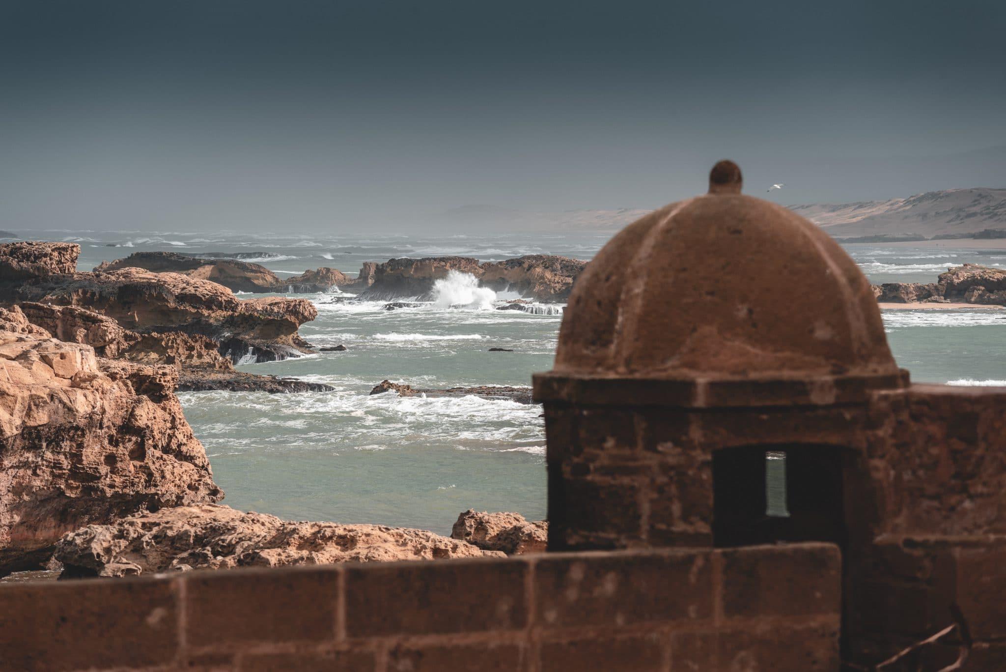 photo de la mer à Essaouira road trip maroc