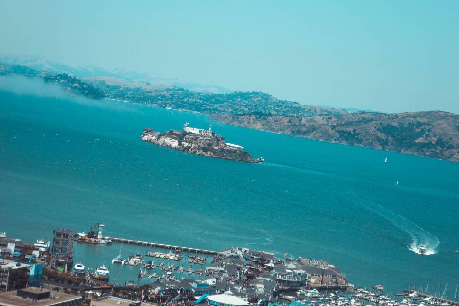 Prison alcatraz road trip cote ouest usa