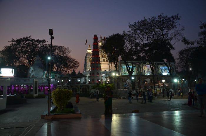 rue animée de Indore