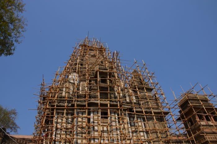 Fort d'Alhiya en rénovation
