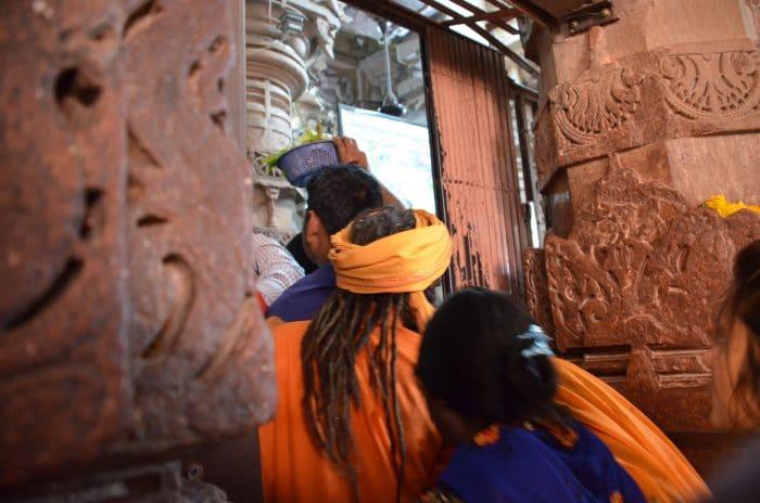 accès au Omkareshwar Mahadev Temple madhya pradesh